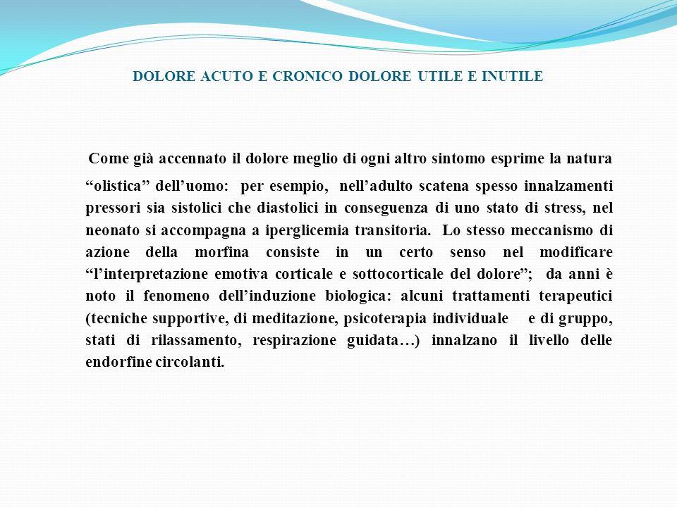 ANSIA TENSIONE MUSCOLAE DOLORE CIRCOLO VIZIOSO