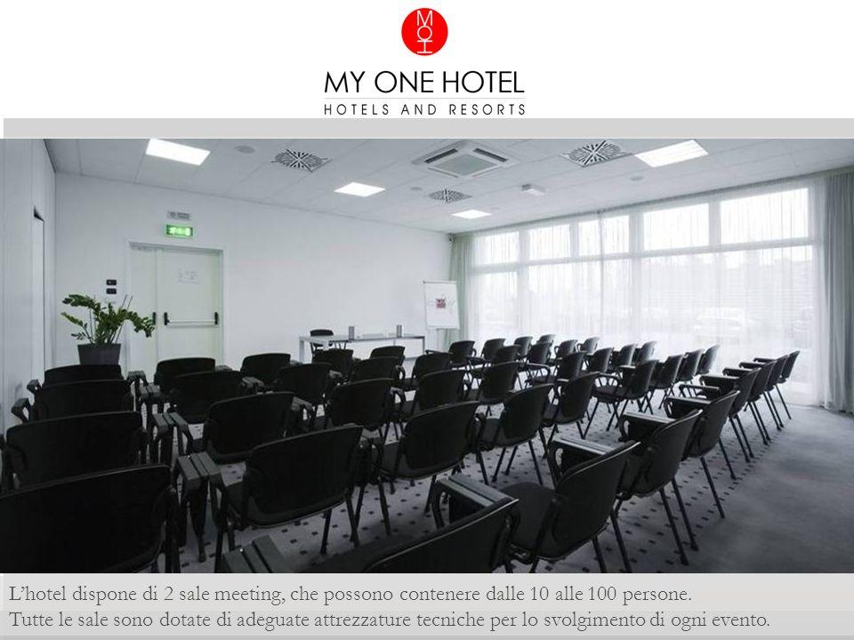 Lhotel dispone di 2 sale meeting, che possono contenere dalle 10 alle 100 persone.