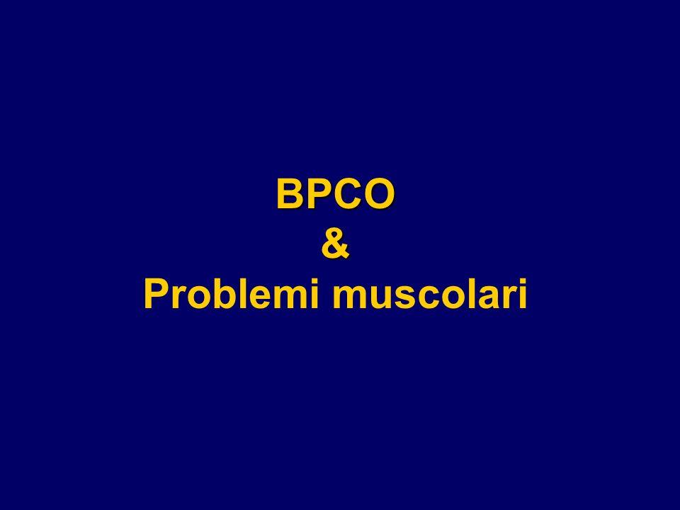 BPCO& Problemi muscolari