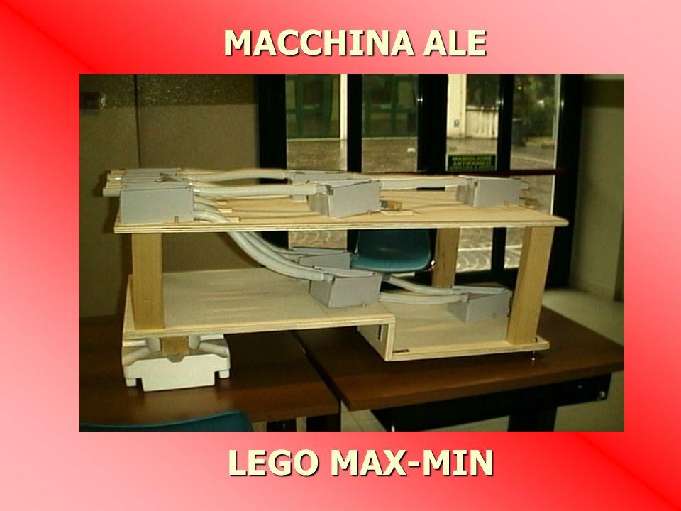 LEGO MAX-MIN MACCHINA ALE