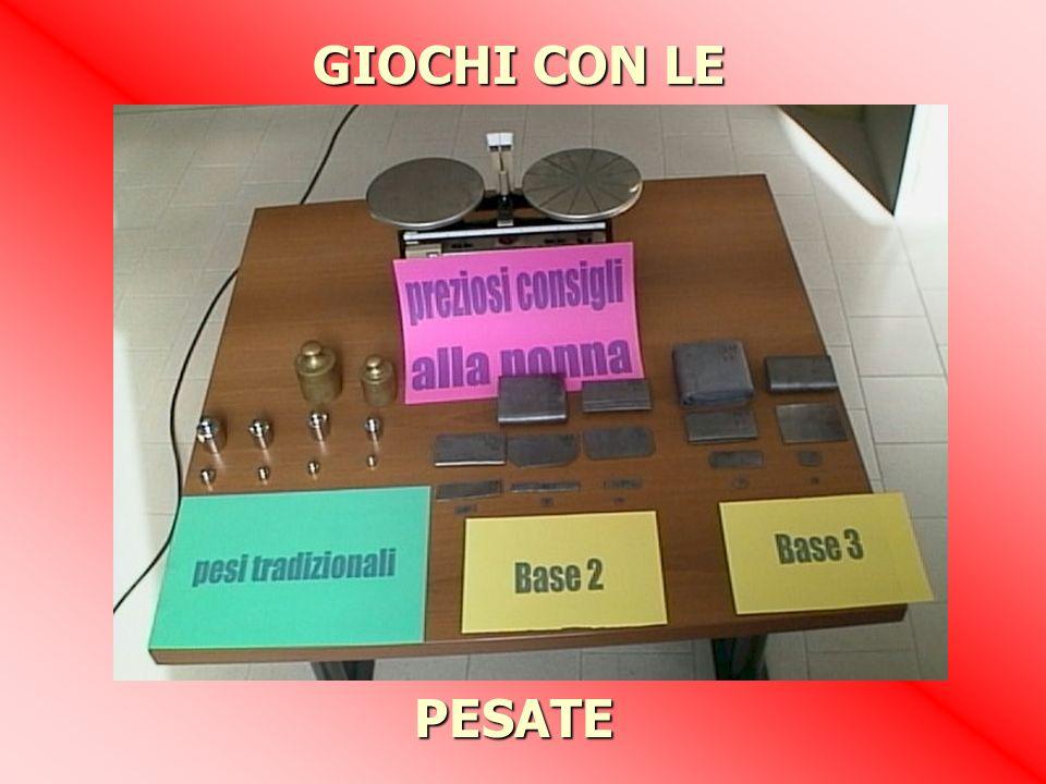 PESATE GIOCHI CON LE