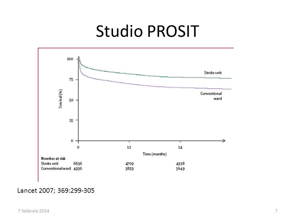 Lancet 2007; 369:299-305 Studio PROSIT 7 febbraio 20147