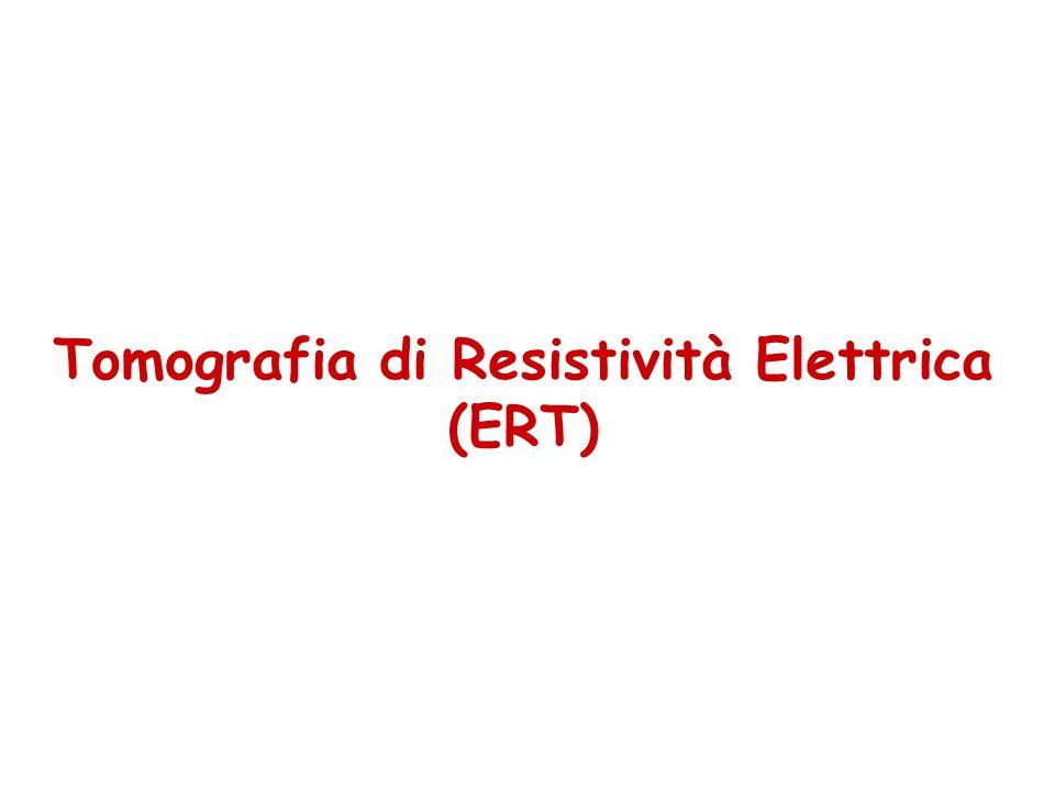 Tomografia di Resistività Elettrica (ERT)