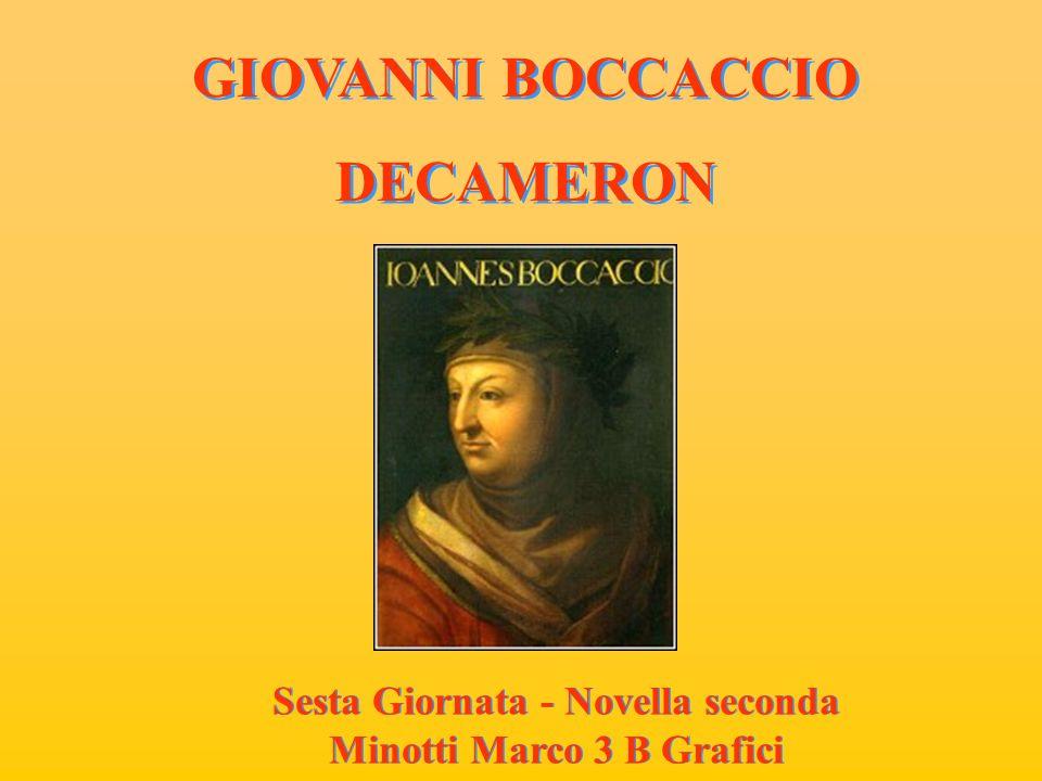CISTI FORNAIO CISTI FORNAIO Nella novella che ha per protagonista il fornaio Cisti, Emergono le tematiche di fondo del Boccaccio.