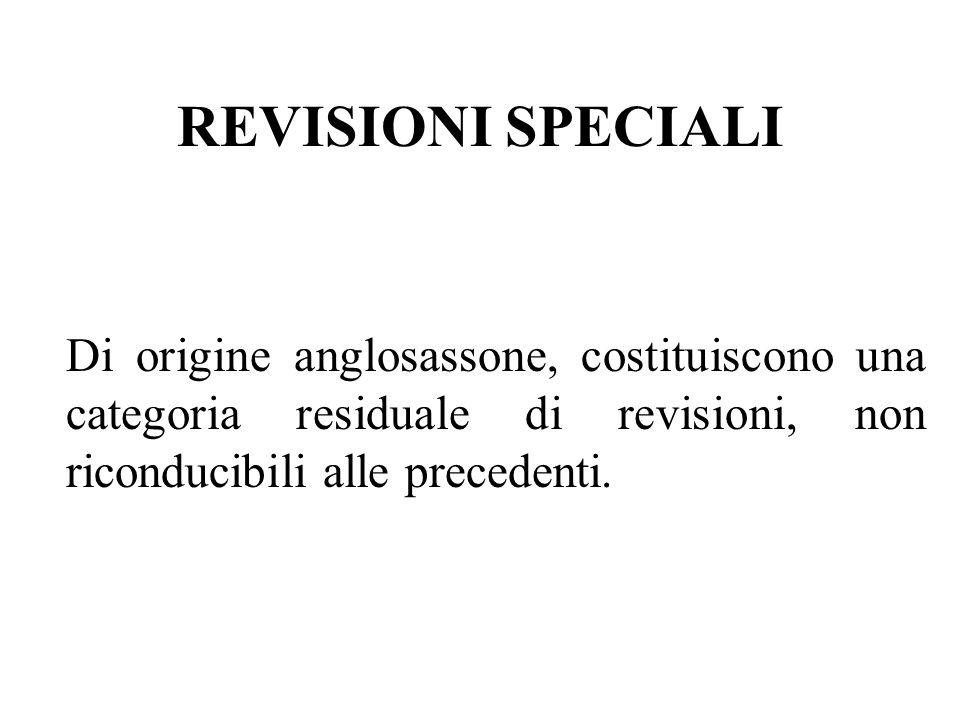 SECONDO LESSENZA R. formale; R. sostanziale