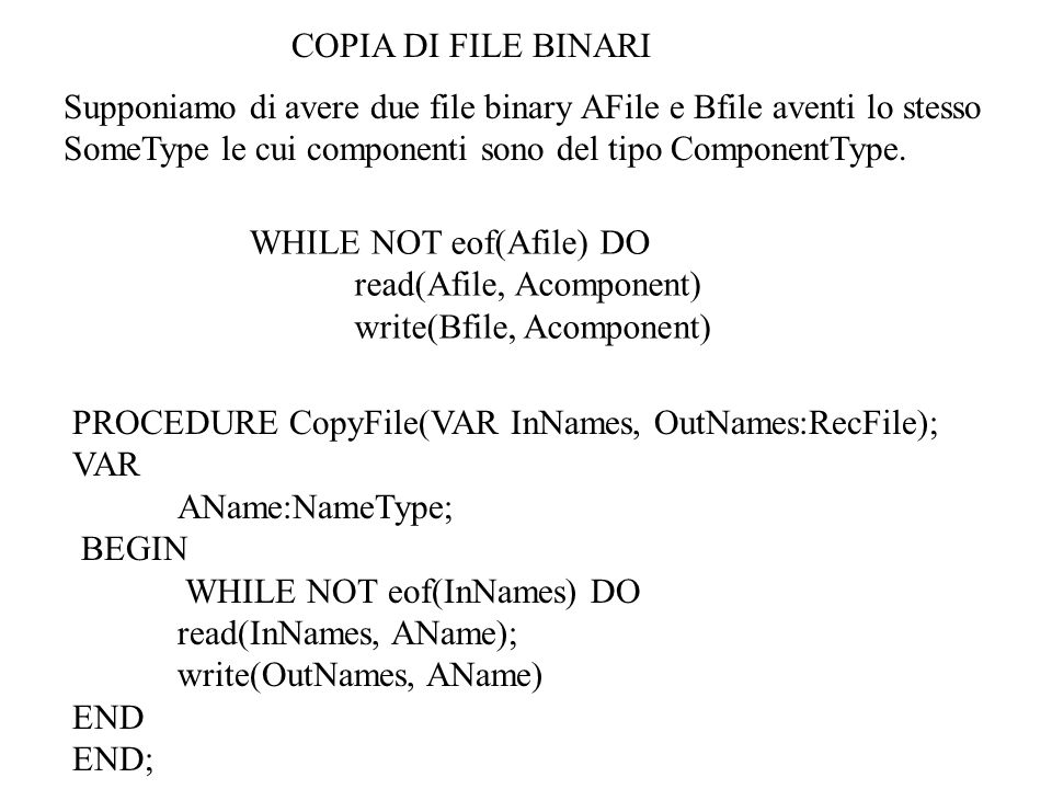 PROBLEMA Leggere il file Semester e realizzare due array di puntatori uno ordinato per nome (ByName) ed uno per matricola (ByMat).