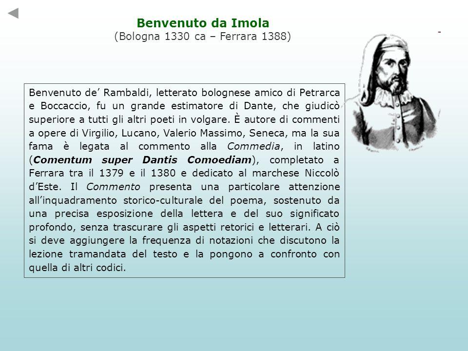 Bonagrazia di Bambagliolo di Amico de Bambaglioli, detto Graziolo, letterato e cancelliere bolognese.