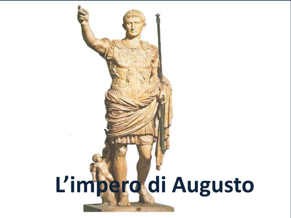 Ottaviano: unico erede di Cesare Sconfitto Marco Antonio, Ottaviano divenne il padrone di Roma.