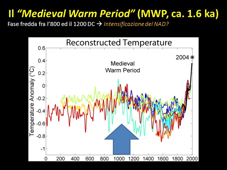 Il Medieval Warm Period (MWP, ca.