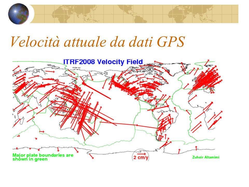 Velocità attuale da dati GPS
