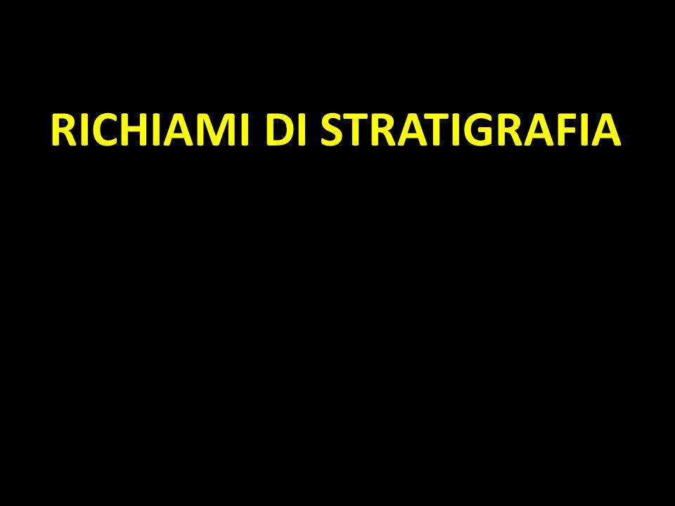 RICHIAMI DI STRATIGRAFIA