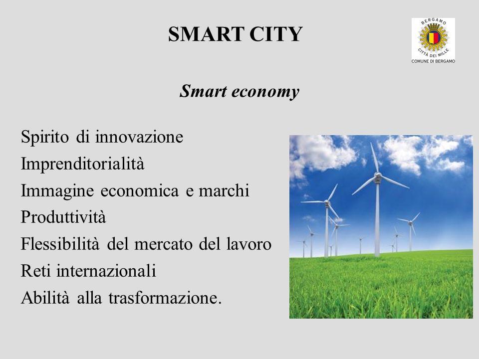 Spirito di innovazione Imprenditorialità Immagine economica e marchi Produttività Flessibilità del mercato del lavoro Reti internazionali Abilità alla