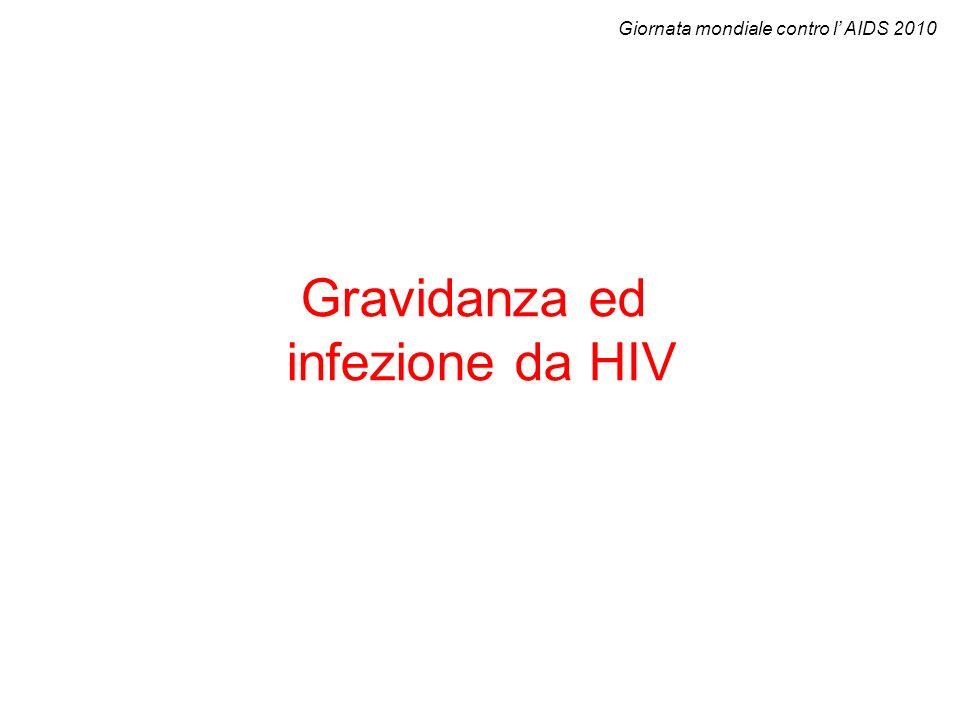 Gravidanza ed infezione da HIV Giornata mondiale contro l AIDS 2010