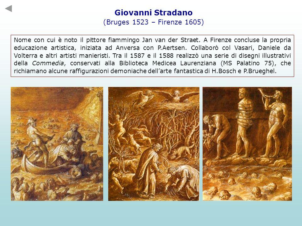 Nome con cui è noto il pittore fiammingo Jan van der Straet. A Firenze concluse la propria educazione artistica, iniziata ad Anversa con P.Aertsen. Co