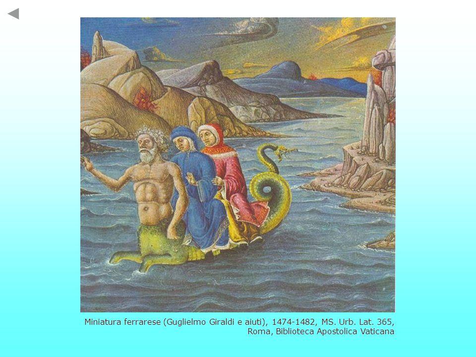 Miniatura ferrarese (Guglielmo Giraldi e aiuti), 1474-1482, MS. Urb. Lat. 365, Roma, Biblioteca Apostolica Vaticana