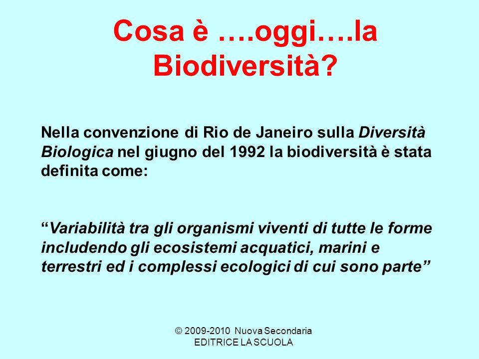 Cosa è ….oggi….la Biodiversità.