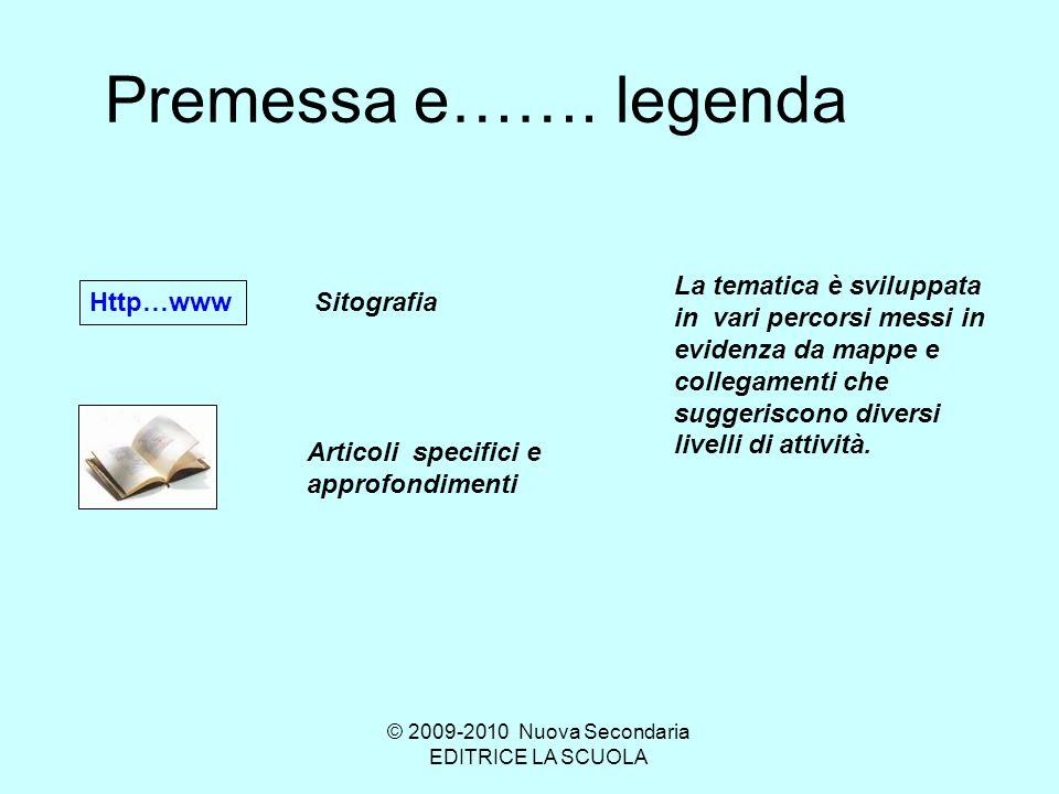 La primavera del Botticelli © 2009-2010 Nuova Secondaria EDITRICE LA SCUOLA