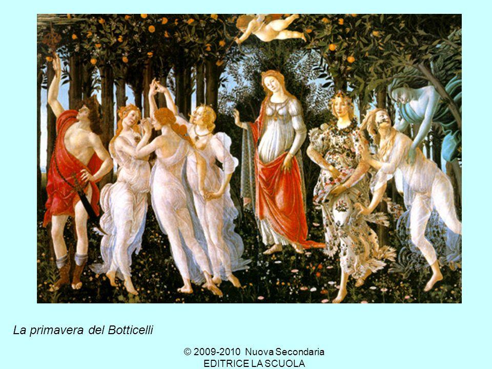 Ci siamo mai soffermati davanti al quadro della primavera del Botticelli??.