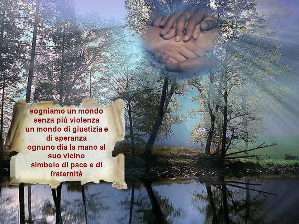 (quando loscurità riempie i nostri giorni) indicaci un posto guidaci con la tua grazia donaci la fede che ci salvi