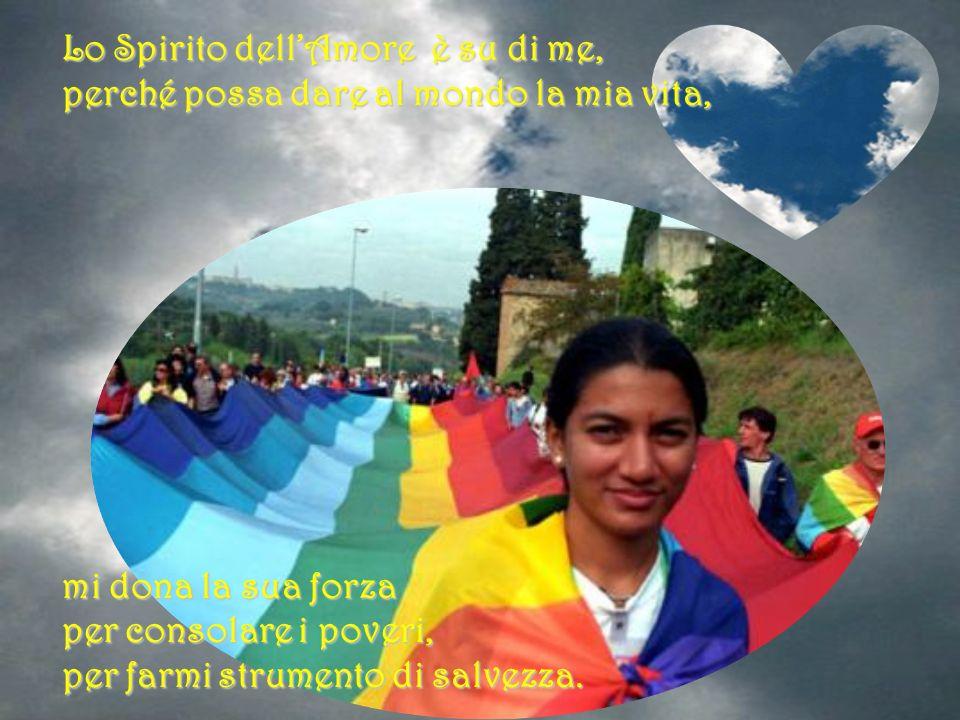 Lo Spirito del Signore è su di me, lo Spirito con lunzione mi ha consacrato, lo Spirito mi ha mandato ad annunziare ai poveri un lieto messaggio di sa