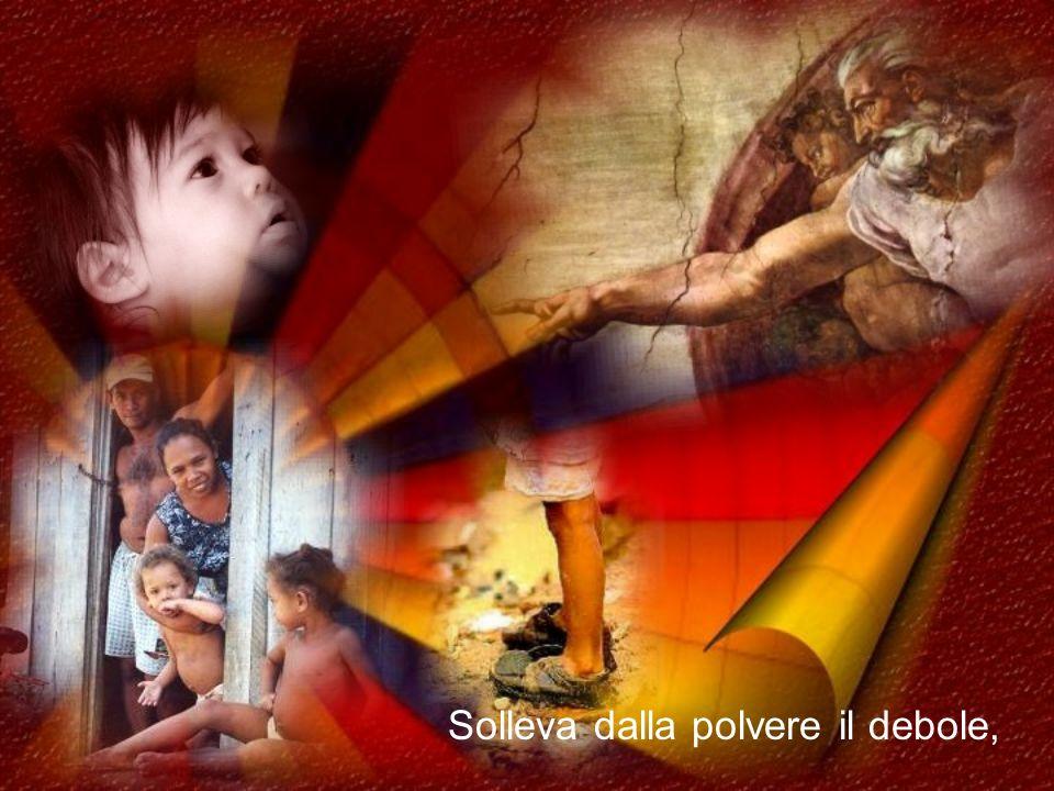Chi è come il Signore, nostro Dio, che siede nell'alto e si china a guardare sui cieli e sulla terra?