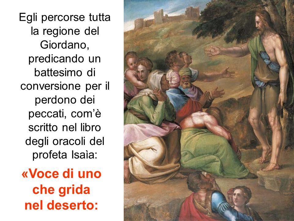 SECONDA DOMENICA DI AVVENTO - C dal Vangelo di Lc 3,1-6 Nellanno quindicesimo dellimpero di Tiberio Cesare, mentre Ponzio Pilato era governatore della