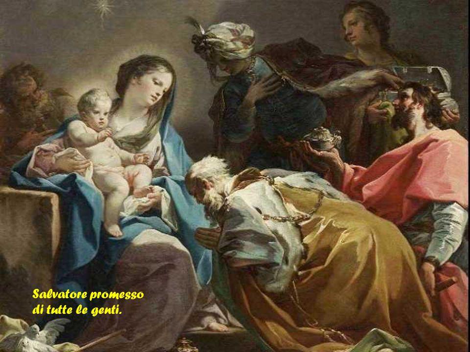 a noi vieni Messia, inviato dal Padre,