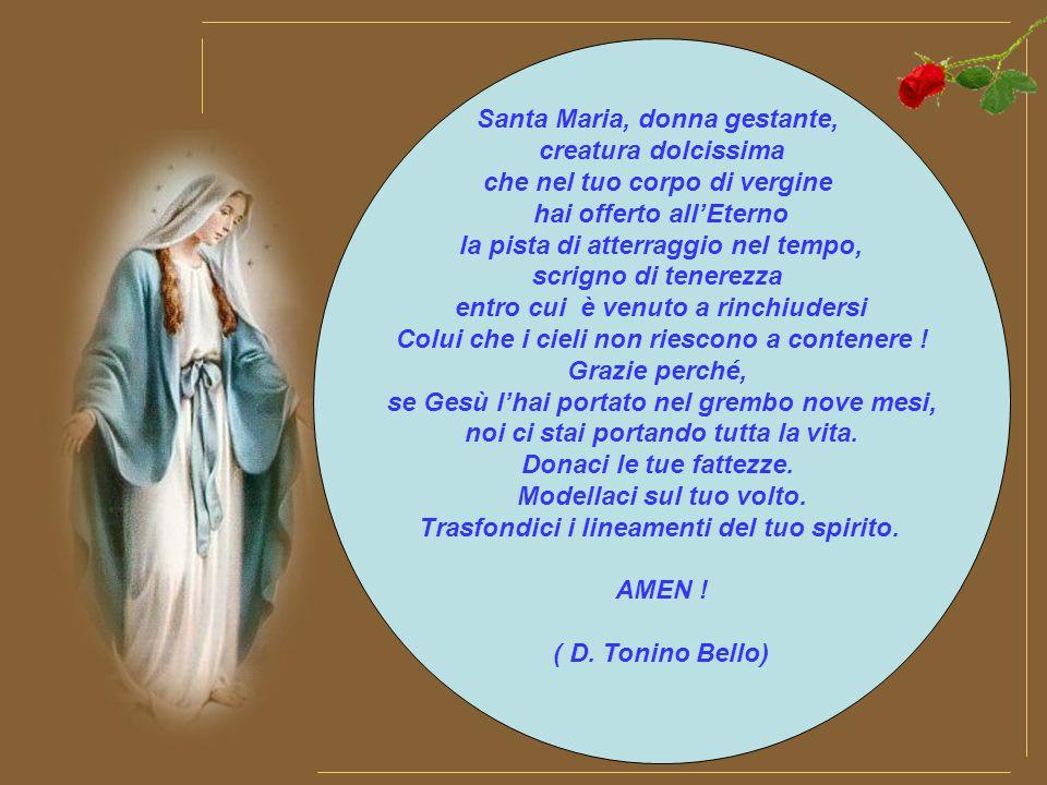 Grandi cose di te si cantano o Maria perché da te è nato il sole di giustizia, Cristo, nostro Dio.