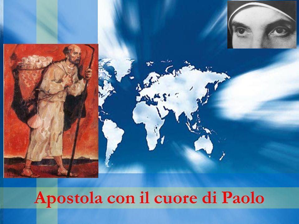 Apostola con il cuore di Paolo