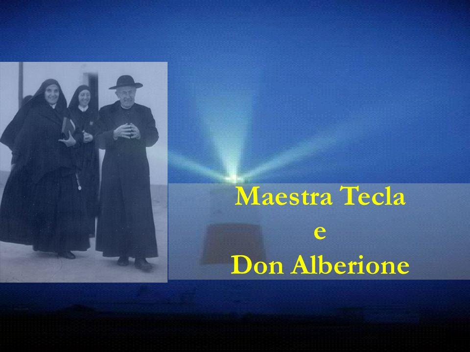 Maestra Tecla e Don Alberione
