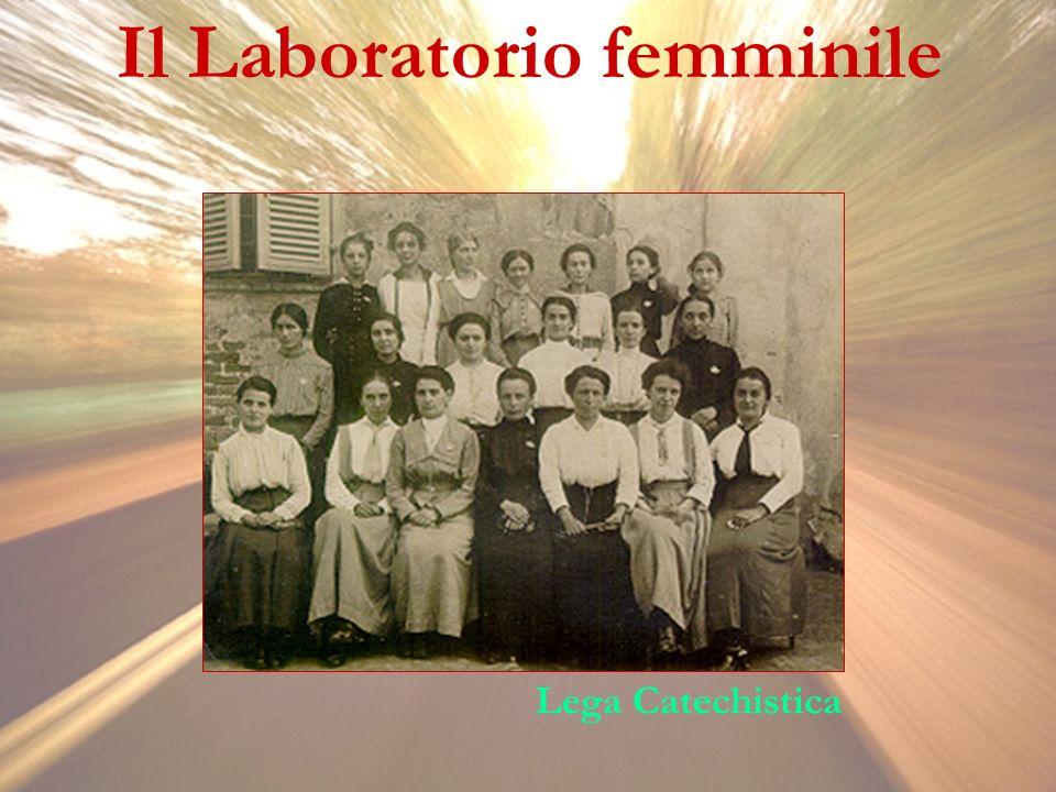 Il Laboratorio femminile Lega Catechistica