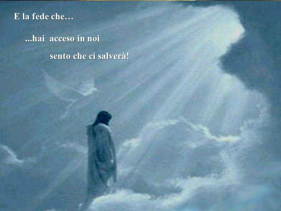 Permetti che questa sia la nostra preghiera Così come ogni bambino Ha bisogno di trovare un luogo Guidaci con la tua grazi a Donaci la fede allora sar