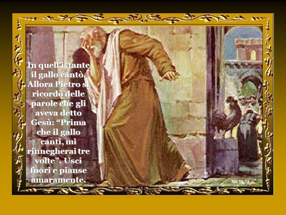 Quello che io bacerò è lui: prendetelo. Subito si diresse verso Gesù e gli disse: Salve, Rabbì!. E lo bacio. E Gesù a lui: Amico, perché sei qui?. Mt.