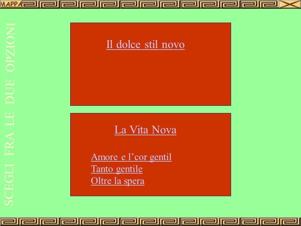 Il dolce stilnovo Che cosa Quando Dove Chi Origine del termine Tra la fine del Duecento e i primi del Trecento Bologna Firenze G.Guinizzelli G.