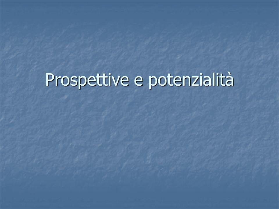 Prospettive e potenzialità