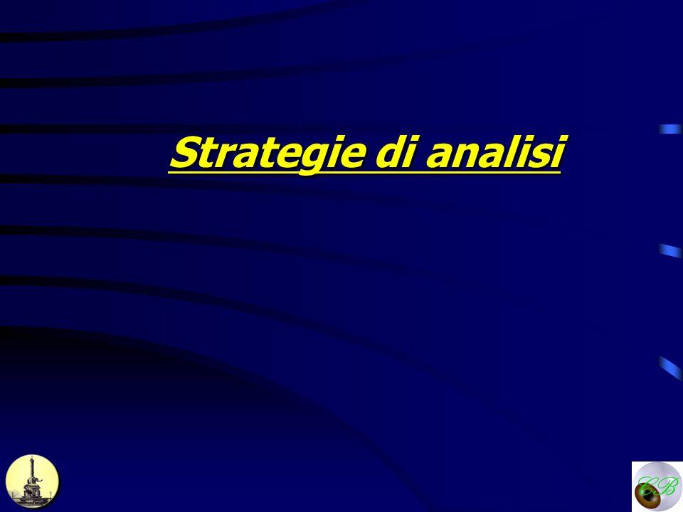 Strategie di analisi