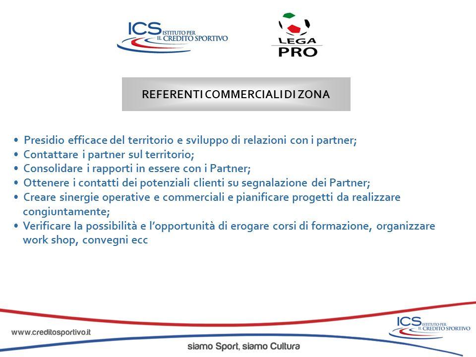 Presidio efficace del territorio e sviluppo di relazioni con i partner; Contattare i partner sul territorio; Consolidare i rapporti in essere con i Pa