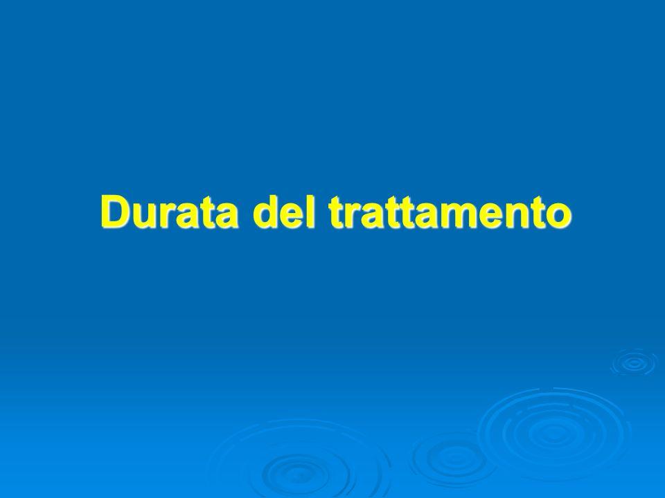 Durata del trattamento
