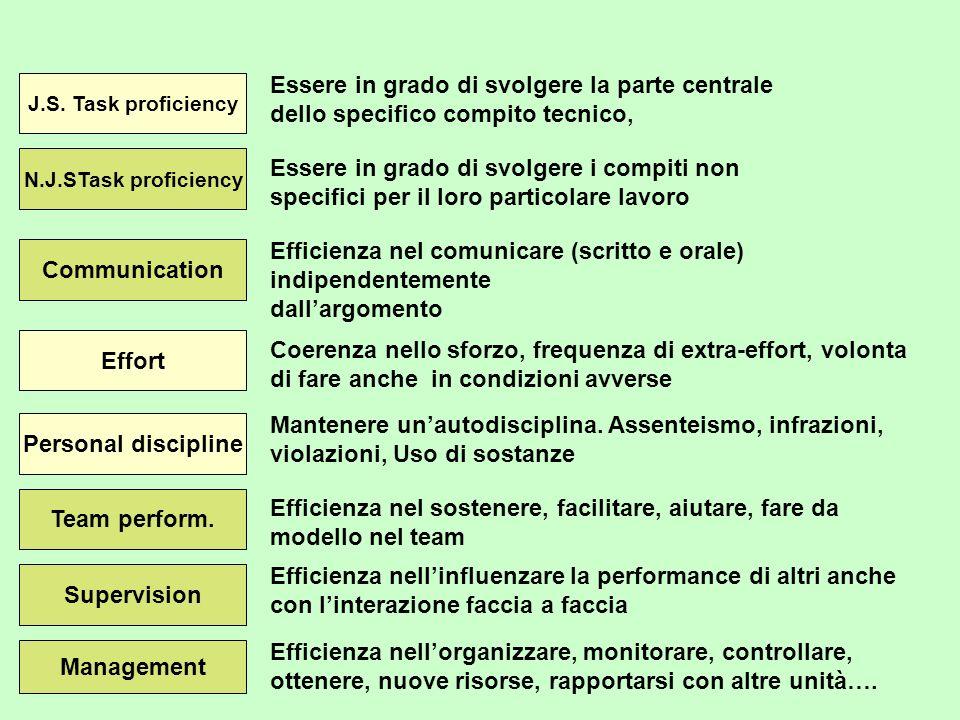 Da notare comunque che la prestazione lavorativa si modifica nel tempo E una osservazione di senso comune La variabilità della prestazione è connessa A) a fattori di apprendimento (si vedano gli studi sullexpertise) B) a fattori di cambiamento individuale (transizioni, mobilità, ecc.) C) a fattori esterni lavorativi (cambiamento tecnico, organizzativo, ecc.) D) a fattori individuali e ambientali lavorativi e extralavorativi (fatica, sonno, stressors, stili di vita, pendolarismo, work-family balance, ecc….)