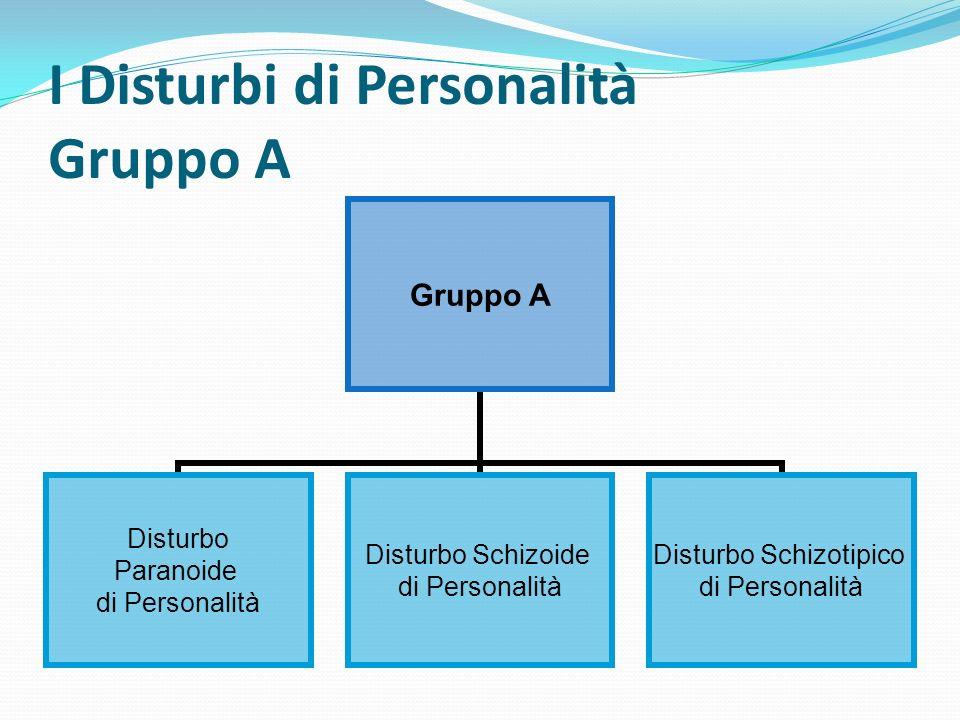 I Disturbi di Personalità Gruppo B Gruppo B Disturbo Antisociale di Personalità Disturbo Borderline Di Personalità Disturbo Istrionico di Personalità Disturbo Narcisistico di Personalità
