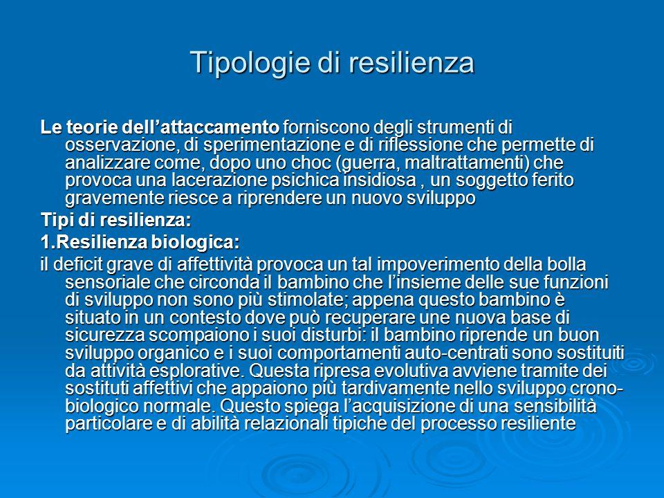 Tipologia di resilienza 2.