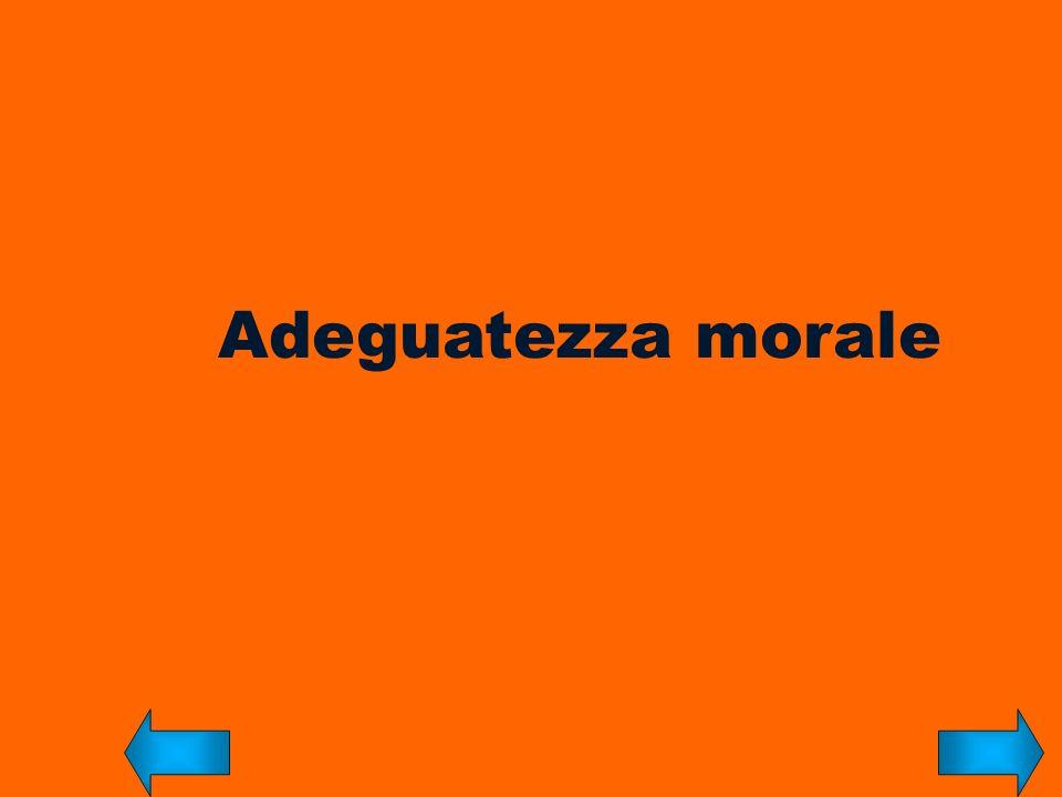 Adeguatezza morale