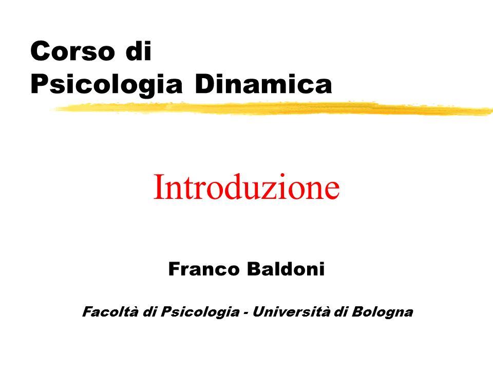 Bibliografia per lesame Curriculum Relazioni interpersonali e di aiuto (9 crediti): Brenner C.