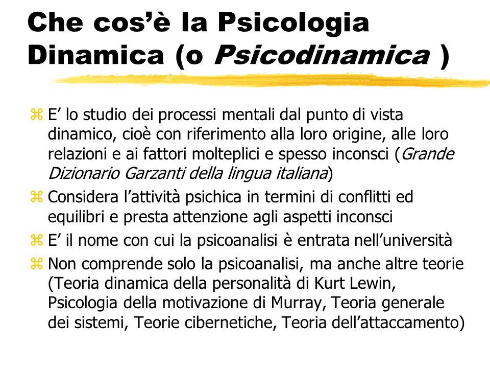 Struttura del corso zI La psicoanalisi freudiana zII I meccanismi di difesa zIII Melanie Klein zIV Wilfred R.