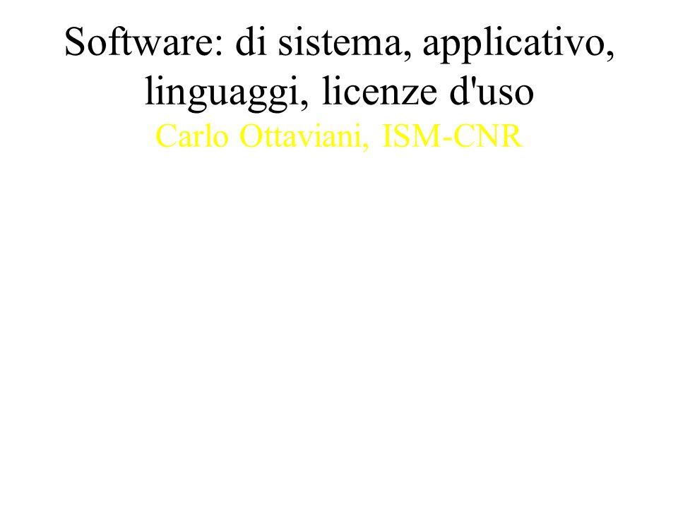 Sistema operativo vs.