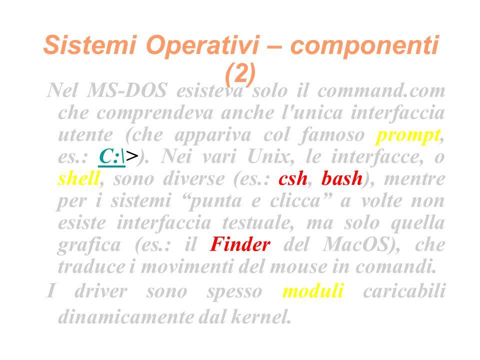 Software di sviluppo (5) Un altra distinzione fondamentale è quella tra i linguaggi di programmazione strutturati ed i linguaggi di programmazione ad oggetti (esistono altri paradigmi di programmazione, ma per brevità li ignoreremo).