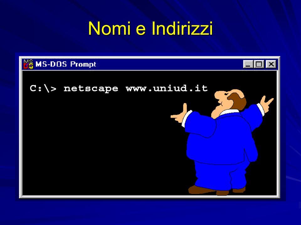 BIND (Berkeley Internet Name Domain) è limplementazione di nameserver più diffusa su Internet sviluppata per Unix BSD, ne esistono porting per molti altri ambienti spesso ne è inclusa una implementazione nel software di corredo di piattaforme Unix – –vi sono attualmente tre versioni: la versione storica 4.x.y (lultima rilasciata è la 4.9.7) la versione 8.x.y (lultima rilasciata è la 8.2.2-P7) la versione 9.x.y, ancora in fase di evoluzione