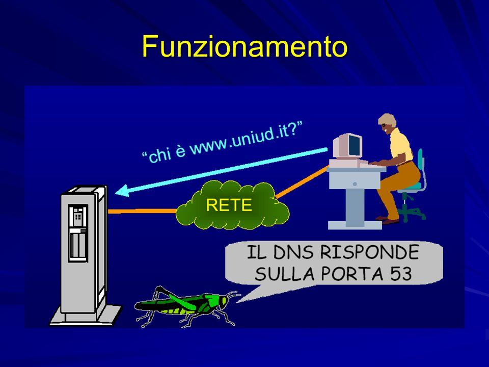 Utility di Supporto Utility di supporto nella gestione di supporto nella gestione di un di un nameserver – –nslookup – –host – –dig – –dnswalk – –ndc – –nsupdate
