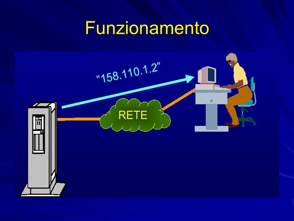 Cache ogni nameserver mantiene copia di tutte le informazioni di cui è venuto a conoscenza tali informazioni sono utilizzate durante il processo di risoluzione dei nomi le risposte date dal nameserver sulla base della cache sono not authoritative le informazioni nella cache di un nameserver rimangono valide per un tempo limitato (Time-To-Live, TTL)