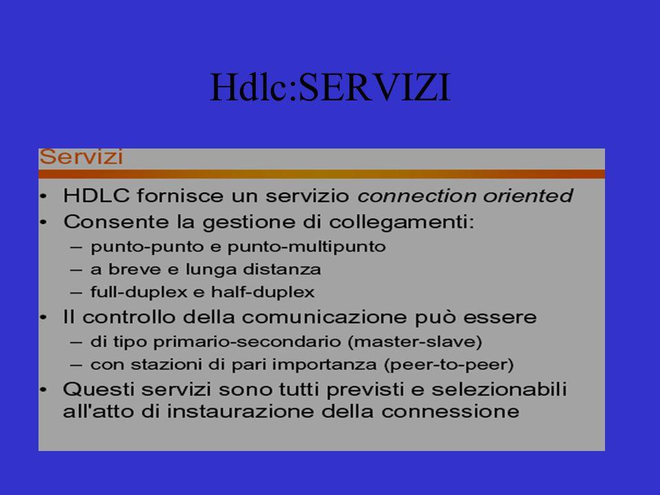 Hdlc:SERVIZI